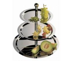 Etażera do owoców, ciast 3-poziomowa