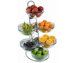 Drabina bankietowa do owoców, 4-poziomowa