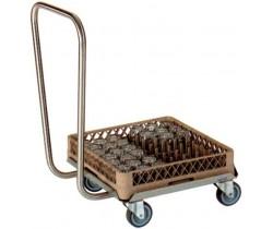 Wózek do transportu koszy
