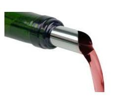 Nalewak do wina zapobiegający kapaniu