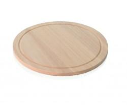 Deska / taca drewniana do pizzy śr. 28 cm